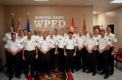 Group Photo of Upper Level Management.