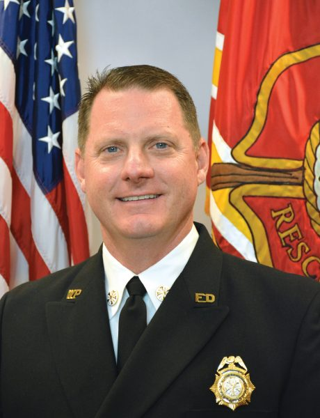Fire Chief Dan Hagedorn