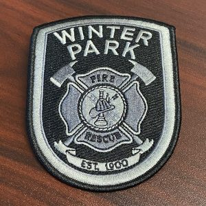 Winter Park Fire Rescue emblem patch
