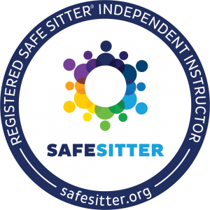 Logo for Registered Safe-Sitter Independent Instructor - safesitter.org
