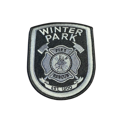Winter Park Fire Rescue emblem patch
