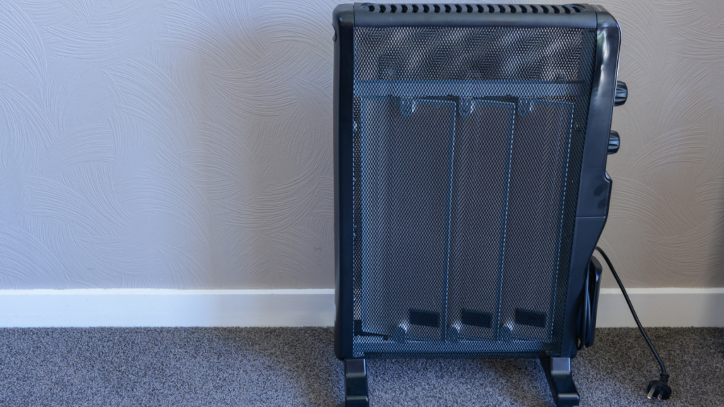 Exercise caution when deciding how to use your space heater.